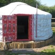 Dormir en una cabaña Nómada
