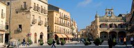Plaza Mayor de Ciudad Rodrigo. Salamanca